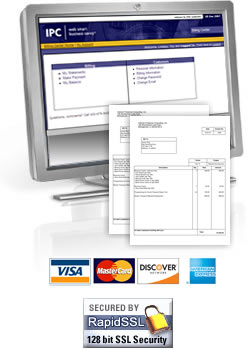IPC Billing Center - Secure Payments using Visa, MasterCard, Discover, and American Express